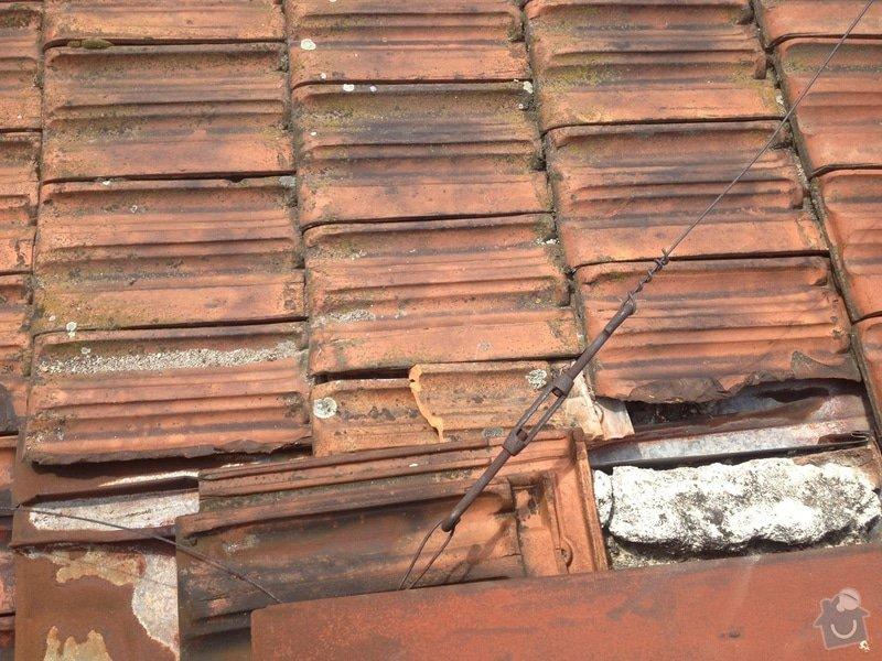Havarijní oprava střechy: Strecha_Provaz._17_IMG_2101