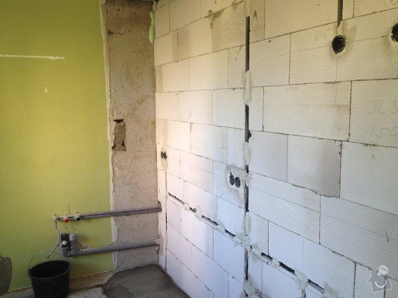 Kompletní rekonstrukce panelové bytu 3+1: 13