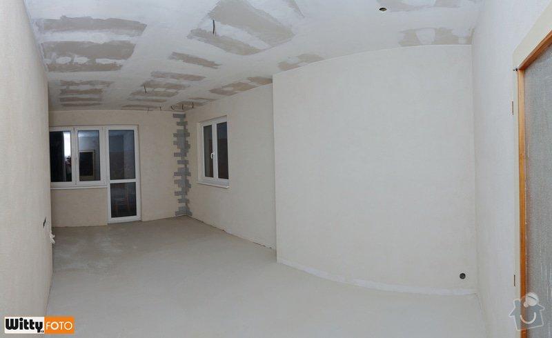 Vyrovnání stěn, podlahy, sadrokartónový strop.: 12WIT_9318_panorama