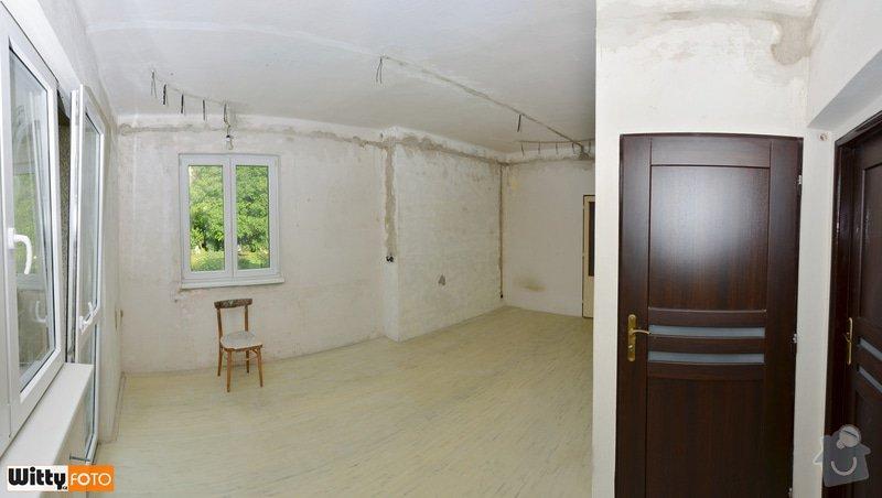 Vyrovnání stěn, podlahy, sadrokartónový strop.: 31WIT_8803_panorama