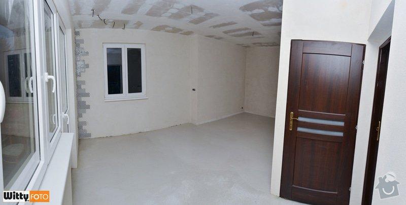 Vyrovnání stěn, podlahy, sadrokartónový strop.: 31WIT_9329_panorama