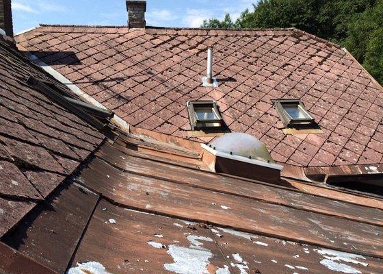Renovace střechy