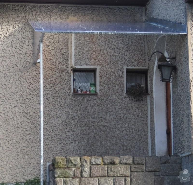 Zakrytí vstupu do domu: strecha1