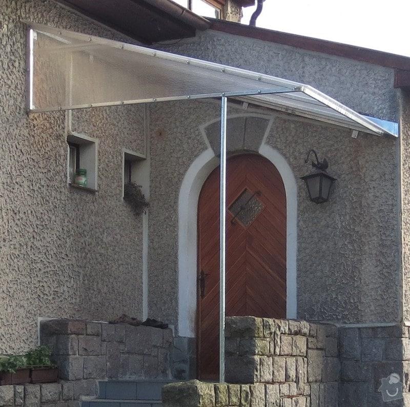 Zakrytí vstupu do domu: strecha2
