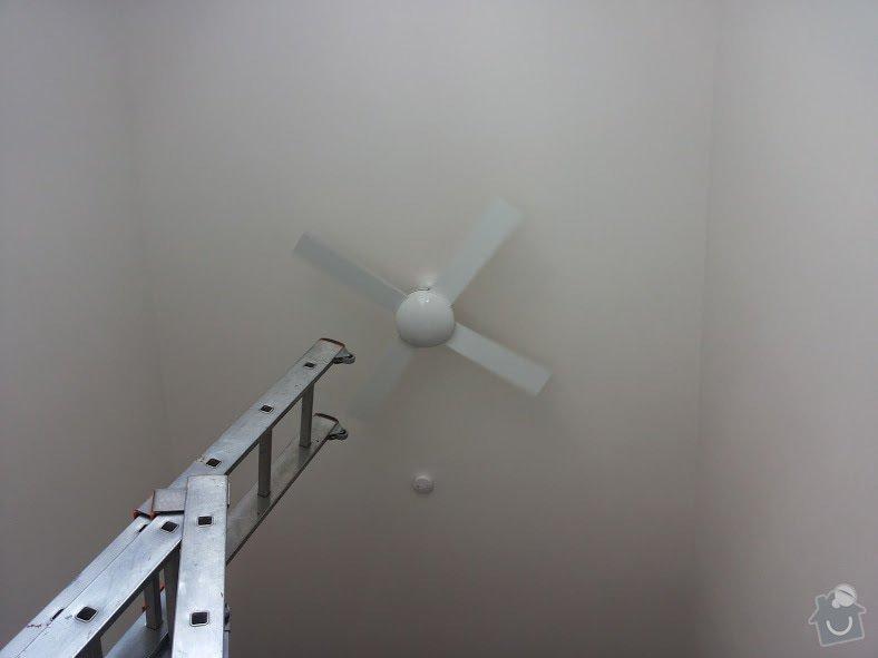 Montáž stropního ventilátoru s dálk.ovládáním: 20140802_130420