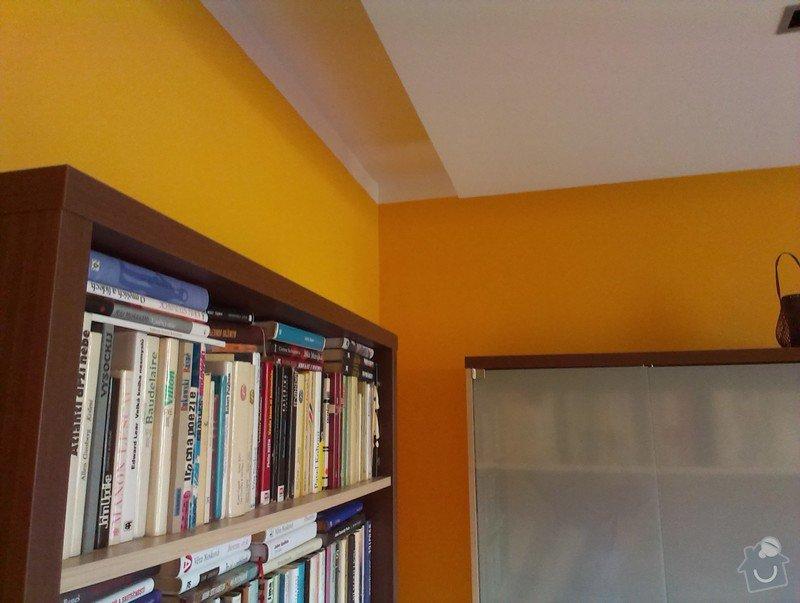 Malování bytu na bílo a v barevných odstínech: IMAG1445