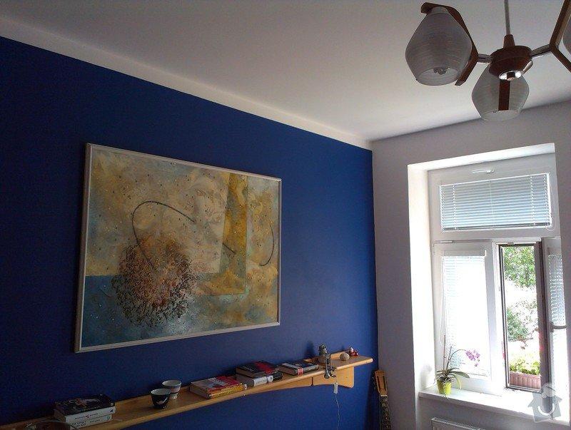 Malování bytu na bílo a v barevných odstínech: IMAG1457