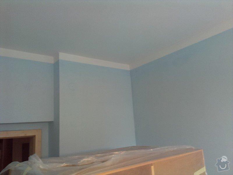 Malování bytu na bílo a v barevných odstínech: IMAG1451