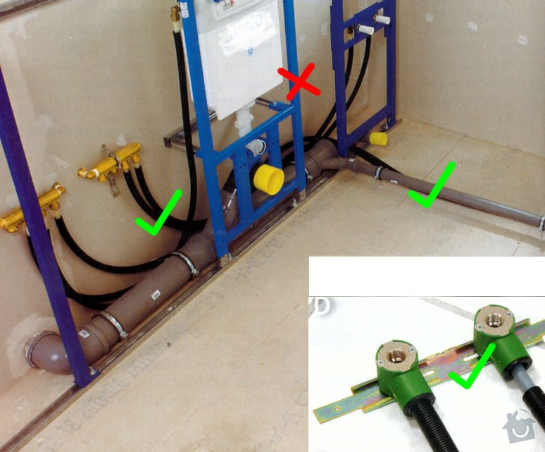 Kanalizace + rozvod vody: kladruby2