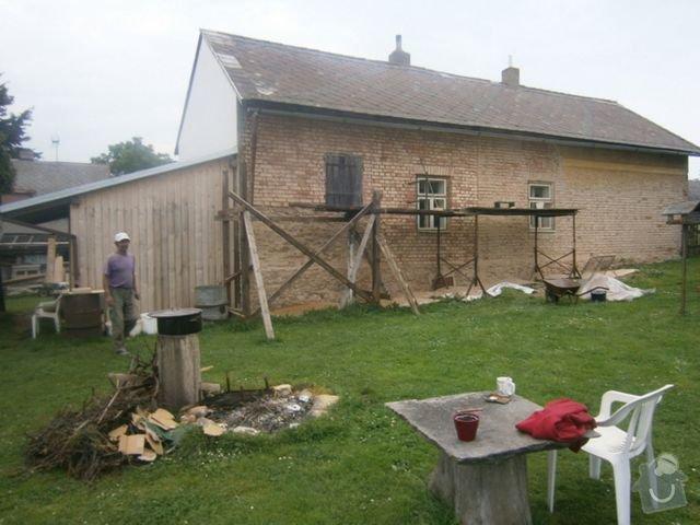 Pokladka strechy : p7250181