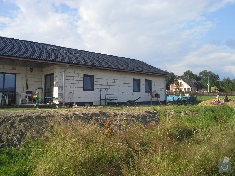 Montaz hromosvodu na rodinny domek, bungalov: 015