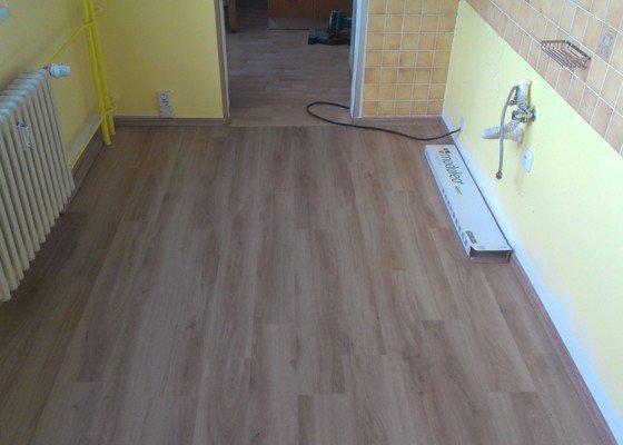Položení PVC podlahy