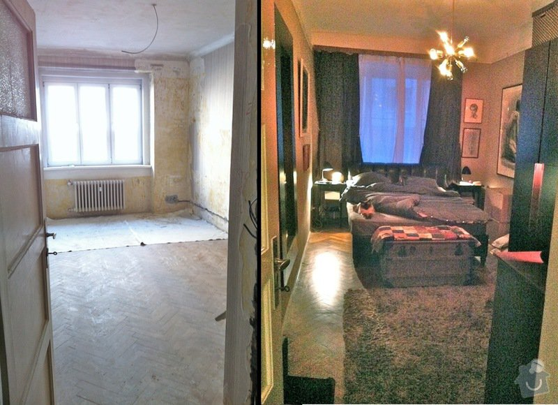 Rekonstrukce: Bedroom_Before_after