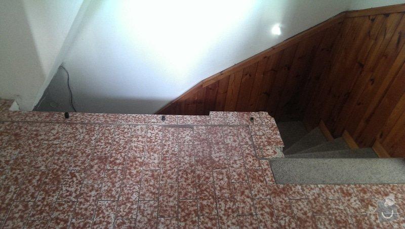 Zábradlí nad schody: IMAG0963