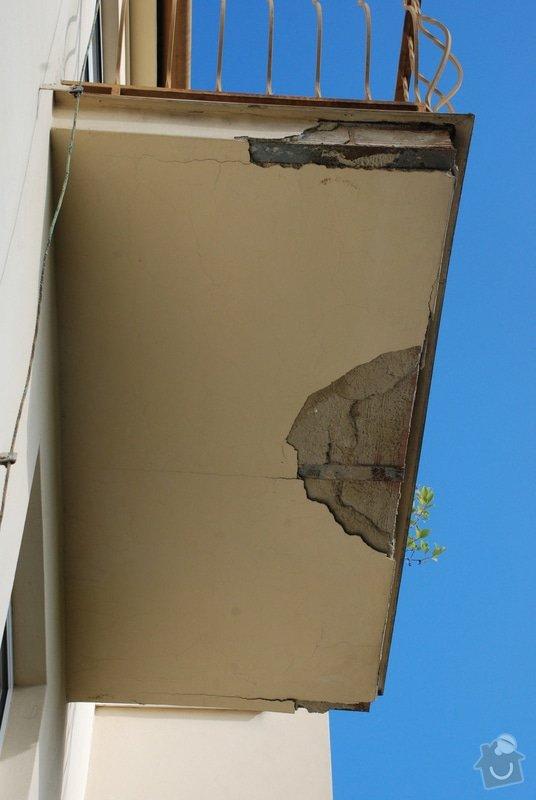 Oprava balkonu - omítka: DSC_0723