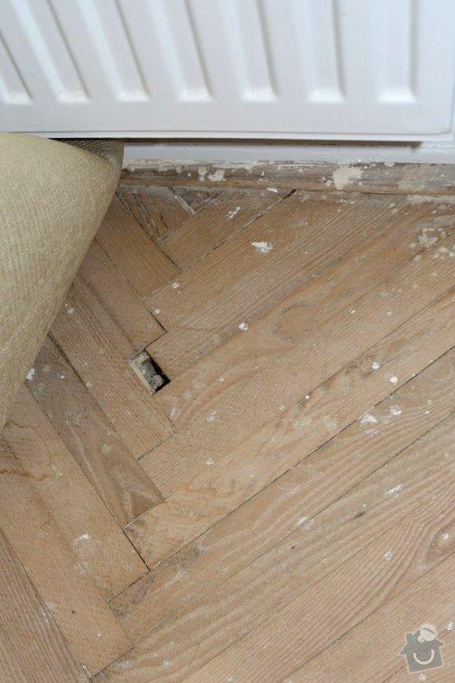 Renovace parketové podlahy: parketa