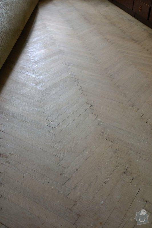 Renovace parketové podlahy: podlaha