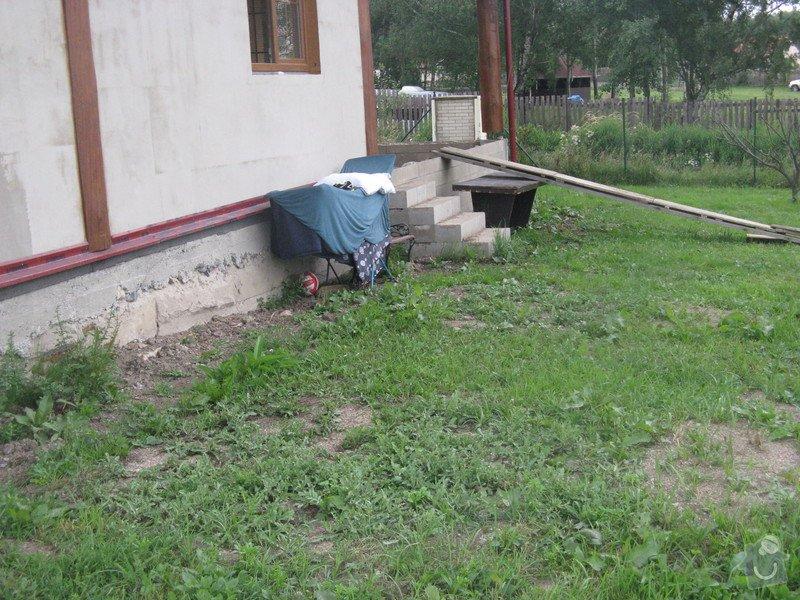 Zámková dlažba u rodinného domu: IMG_7590