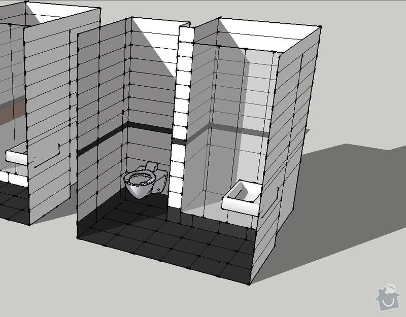 Obklad koupelny a kuchyně: 2