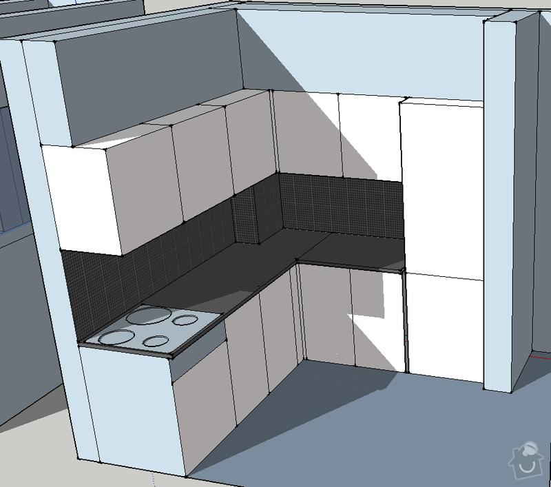 Obklad koupelny a kuchyně: kuchyn