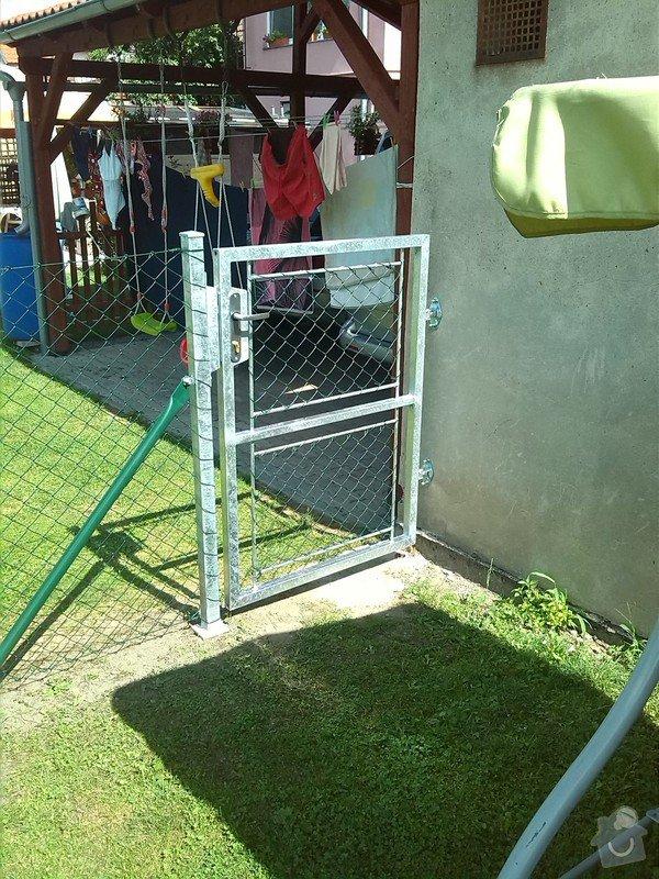 Plot a jednokřídlá branka mezi sousedícími pozemky : IMG_20140803_110001