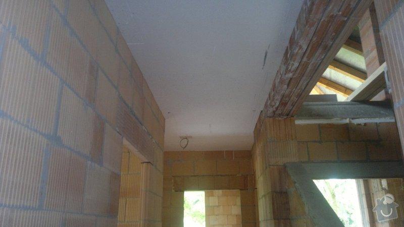 Sádrové omítky a zateplení stropu : 03062014078