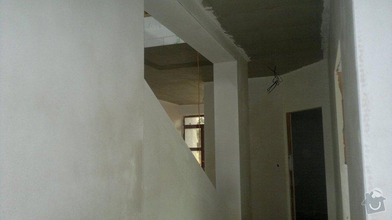 Sádrové omítky a zateplení stropu : 04082014157