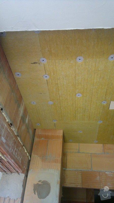 Sádrové omítky a zateplení stropu : 10062014106