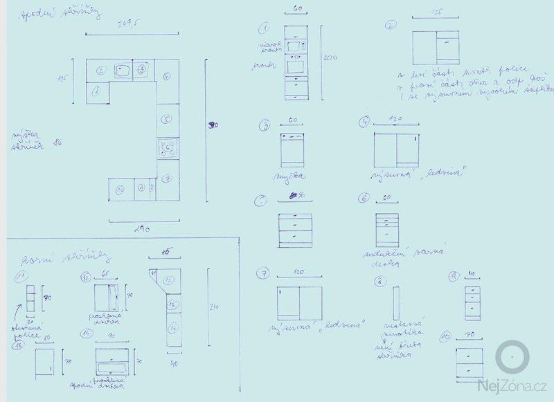 Výroba kuchyně: navrh_kuchyne