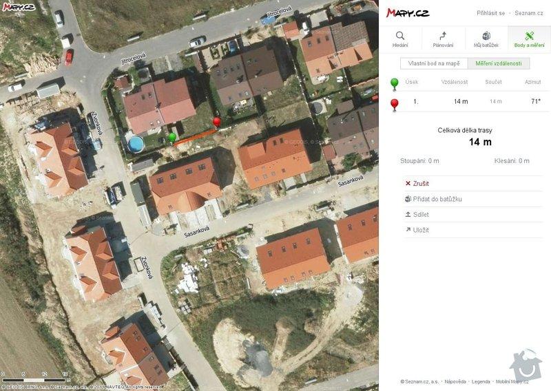 Realizace plotu RD Zeleneč: mapa_3