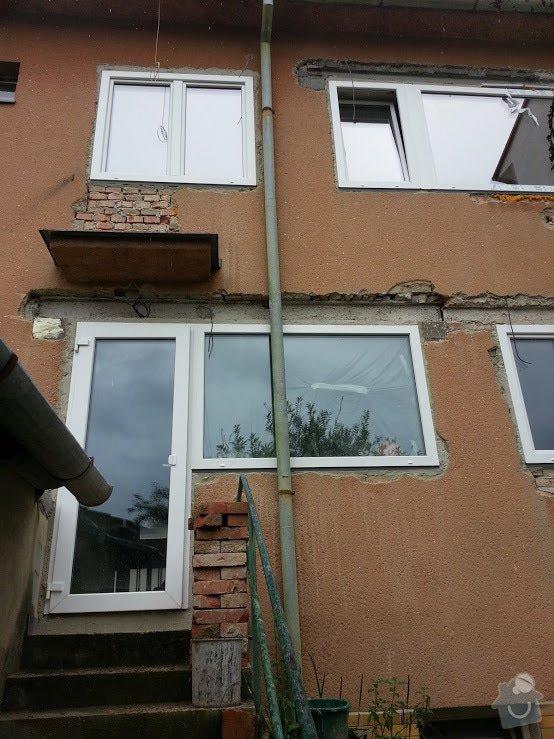 Zateplení fasády RD cca 60m2: 20140804_161754