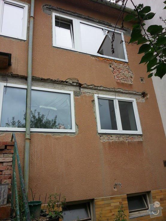 Zateplení fasády RD cca 60m2: 20140804_161758