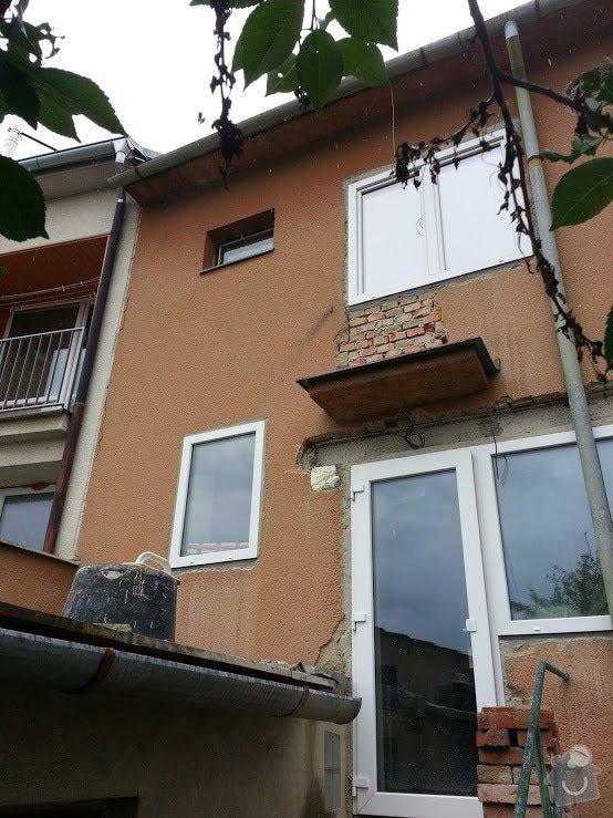 Zateplení fasády RD cca 60m2: 20140804_161804