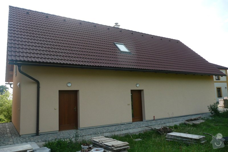 Novostavba garáže: P1100399