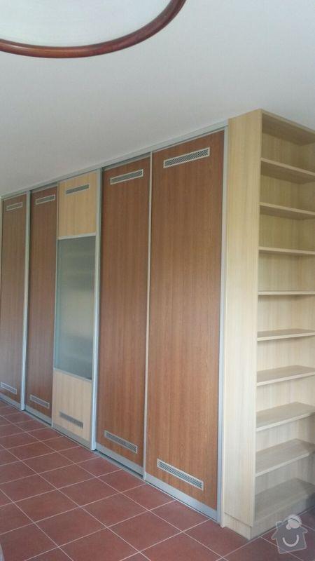 Kuchyňská linka,vestavěná skříň, pracovní kout a úložný prostor: K_12_