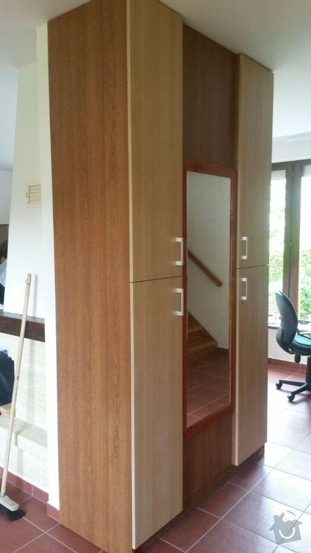 Kuchyňská linka,vestavěná skříň, pracovní kout a úložný prostor: K_2_