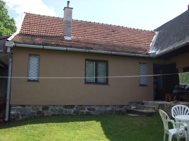 Rekonstrukce střechy chalupy: DSCF3110
