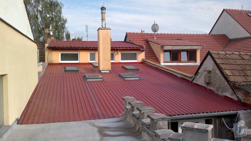 Střecha 6,35 x 11 m: 06082014679