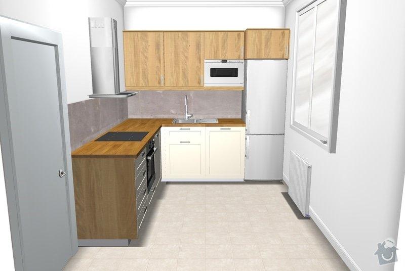 Vyroba kuchyne (250 x 250 cm): free_standing