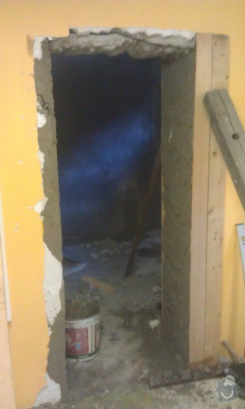 Probourání dveří: IMAG1350