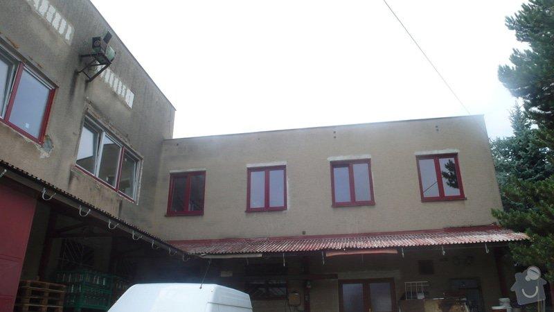 Oprava a nátěr fasády + nátěr plechové stříšky cca 100+100 m2: P1160734