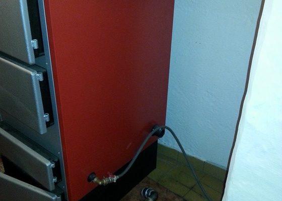 Prodej Automatický kotel Greeneco 50kW + montáž.