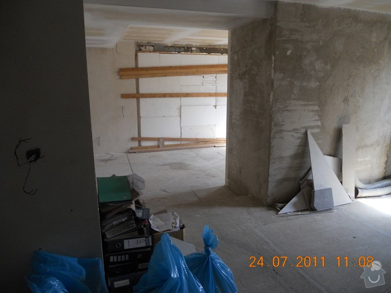 Rekonstrukce domu v Chabařovicích: DSCN0225
