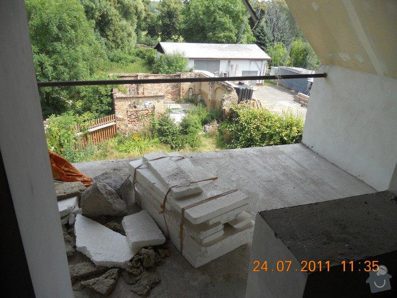 Rekonstrukce domu v Chabařovicích: DSCN0244