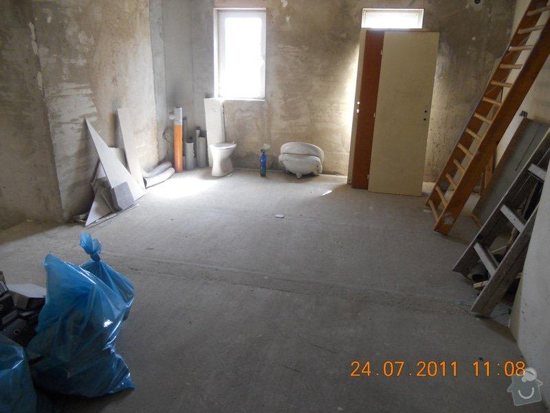 Rekonstrukce domu v Chabařovicích: DSCN0224