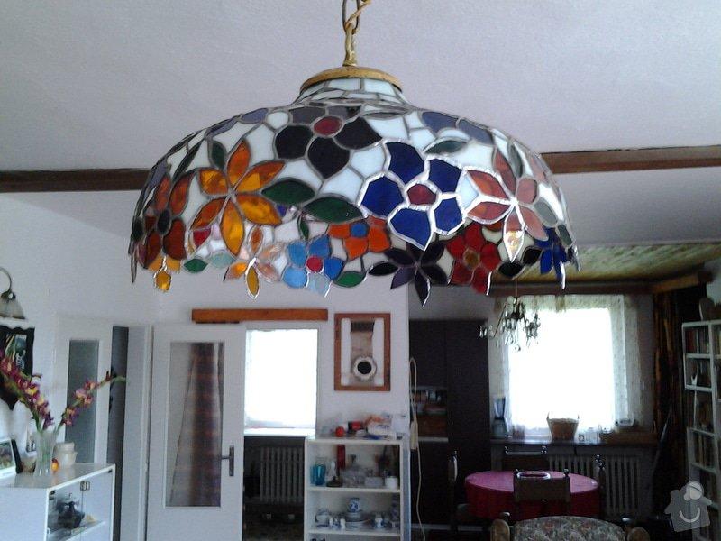 Oprava vitrážového lustru: 20140809_154443