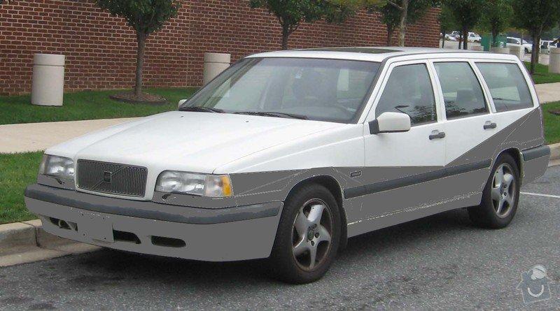 Lakování / volvo 850 kombi / díly: Volvo-850-wagon-front