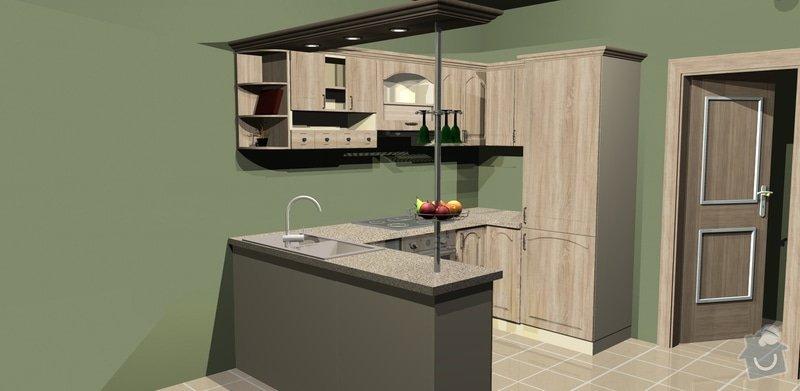 Výstavba kuchyně v bytě: 1