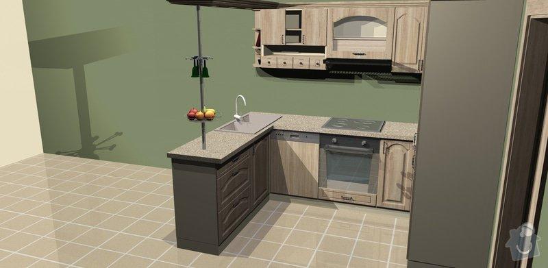 Výstavba kuchyně v bytě: 2