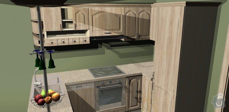 Výstavba kuchyně v bytě: 3